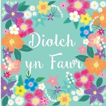 Diolch yn Fawr- Card