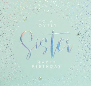 Lovely Sister - Card