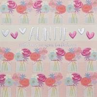 <!--091-->Auntie Birthday- Card