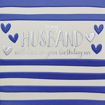 Husband Birthday- Card