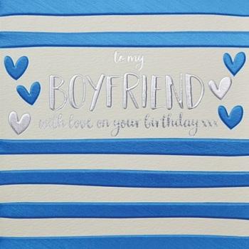 Boyfriend Birthday- Card