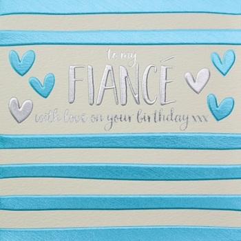 Fiance Birthday- Card