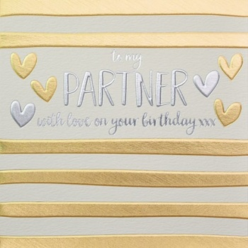 Partner Birthday- Card