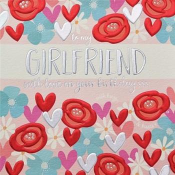 Girlfriend Birthday- Card