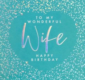 Wife Birthday- Card