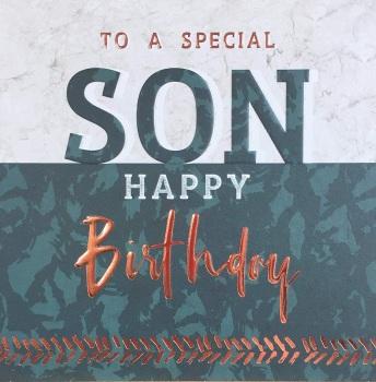 Son Birthday- Card