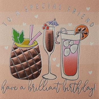 Special Friend Birthday- Card