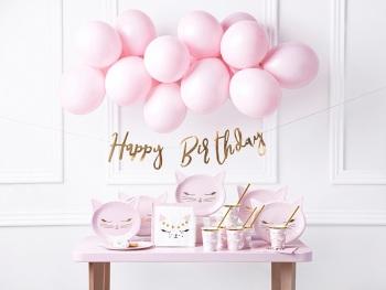 Rose Gold Script Happy Birthday - Bunting