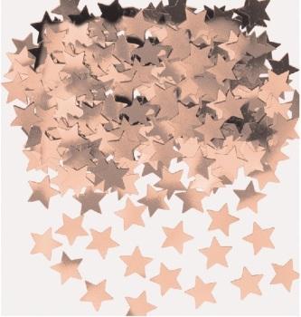 Rose Gold Star - Confetti