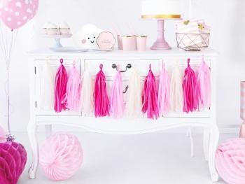 Pink Ombre - Tassel Garland