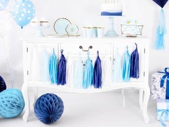 Blue Ombre - Tassel Garland
