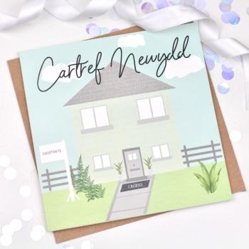 Cartref Newydd - Card