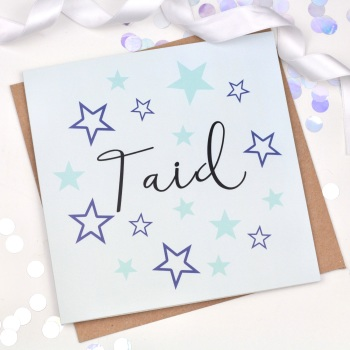 Blue Starry - Taid  - Card
