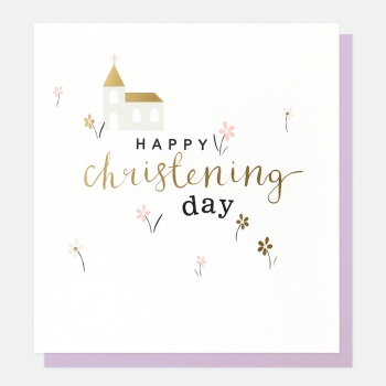 Happy Christening Day - Card