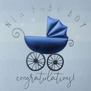 New Baby Boy - Card