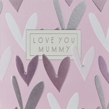 Love You Mummy - Card