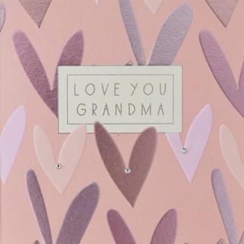 Love You Grandma - Card