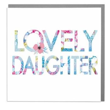 Lovely Daughter - Card