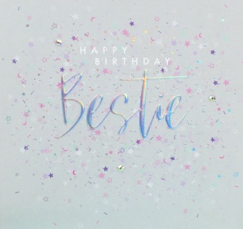 Bestie Happy Birthday - Card