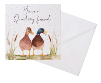 You're a Quacking friend - Card