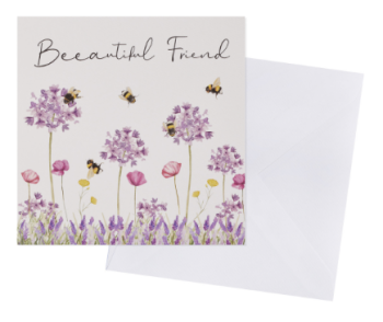 Beeautiful friend - Card