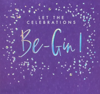 Let the Celebrations Be-gin - Card