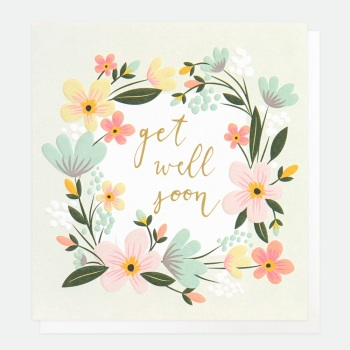 Get Well Soon - Card