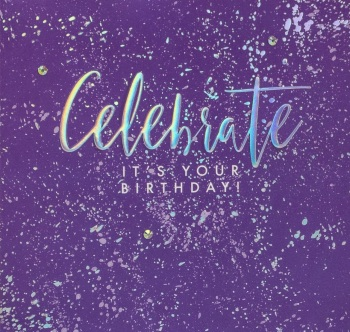 Celebrate it's your Birthday! - Card