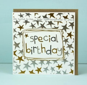 Special Birthday - Card