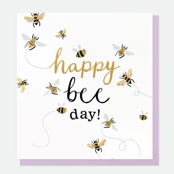 Happy Bee Day - Card