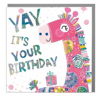 Yay It's Your Birthday - Card