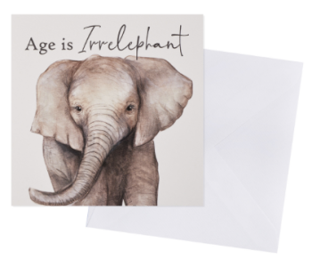 Age is Irrelephant - Card