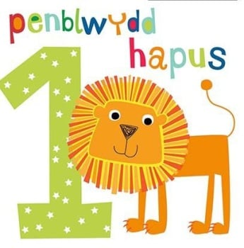 Penblwydd Hapus - 1 Bachgen - Card