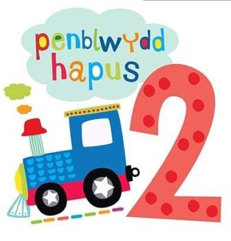 Penblwydd Hapus - 2 Bachgen - Card