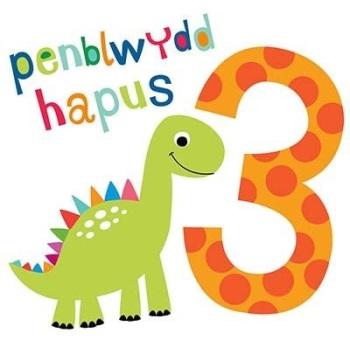Penblwydd Hapus - 3 Bachgen - Card