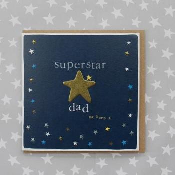 Superstar Dad - Card