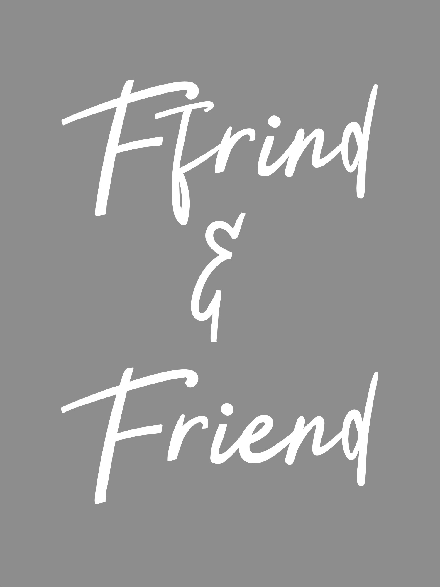 ffrind or friend