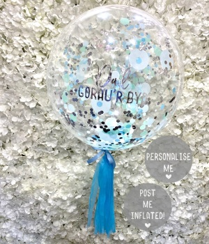 Dad Gorau'r Byd - Confetti Balloon