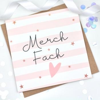 Merch Fach  - Card