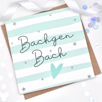 Bachgen Bach  - Card
