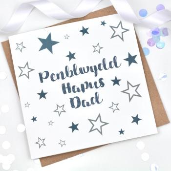 Starry - Penblwydd Hapus Dad  - Card