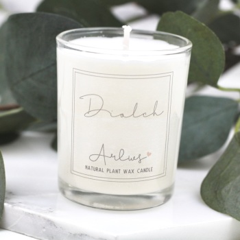 Arlws - Diolch - Small Candle