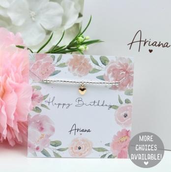 Happy Birthday - Bracelet - Various Choice