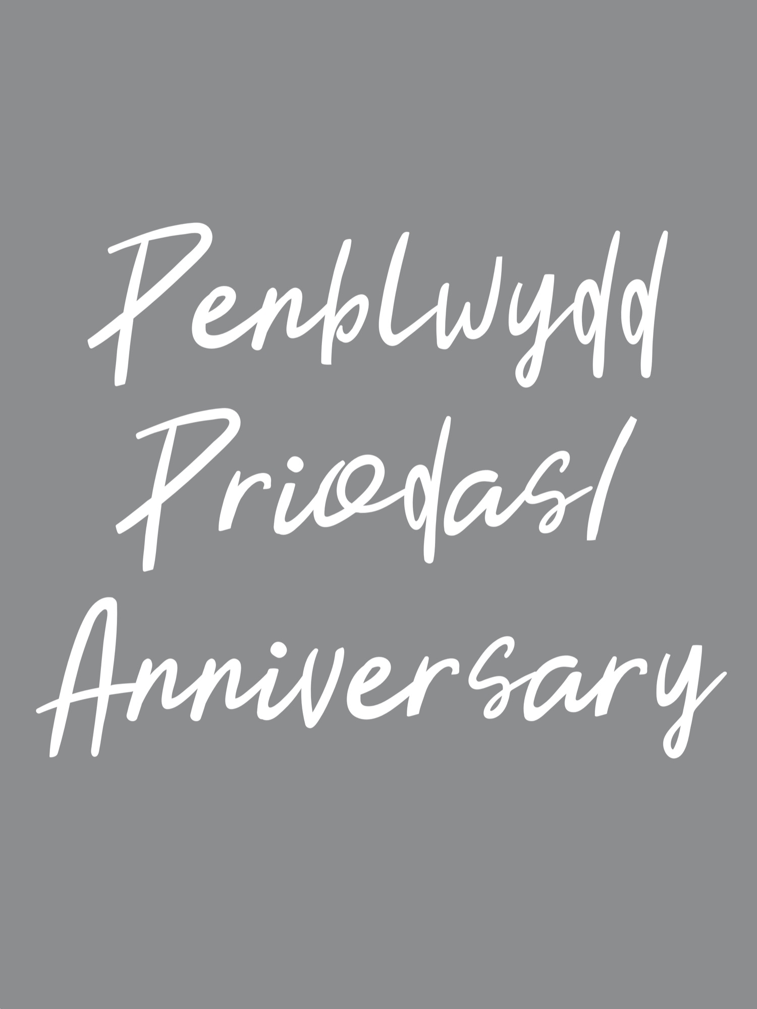penblwydd priodas or anniversary
