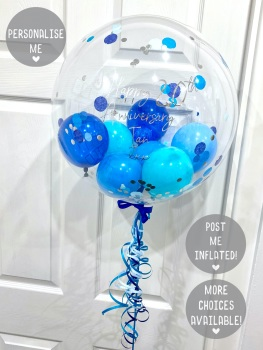 Blue Ombre - Balloon Bubble Balloon
