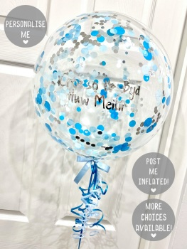 Confetti Bubble Balloon - Ocean Splash