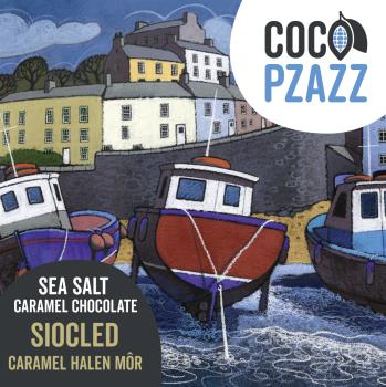 Sea Salt Caramel - Milk Chocolate Bar