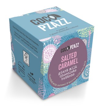 Salted Caramel - Milk Chocolate Giant Buttons