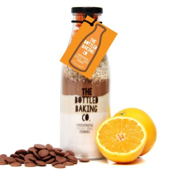 Chocolate Orange Cookies - Bottled Baking Kit