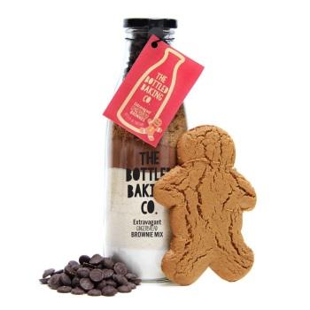 Gingerbread Brownies - Bottled Baking Kit